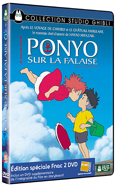 [BD + DVD] Ponyo sur la Falaise (23 décembre 2009) 8717418239541