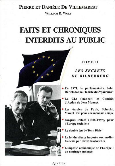 Le Groupe Bilderberg, l'agent d'influence VIP de l'Otan et des élites pro-NWO ? 9782951741522