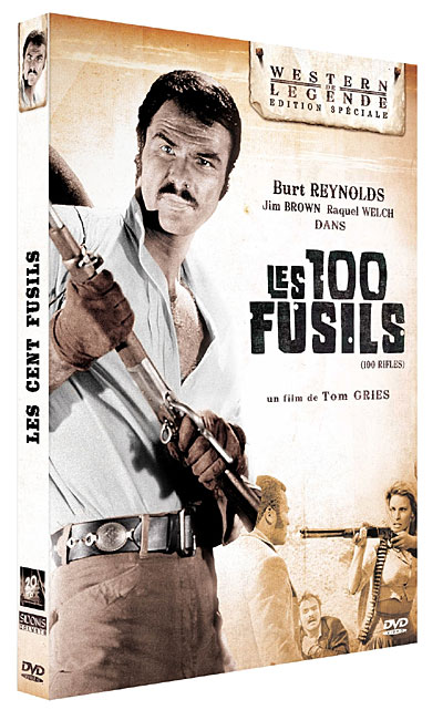 Les cent fusils . 100 Rifles . 1968 . Tom Gries . 3512391750732
