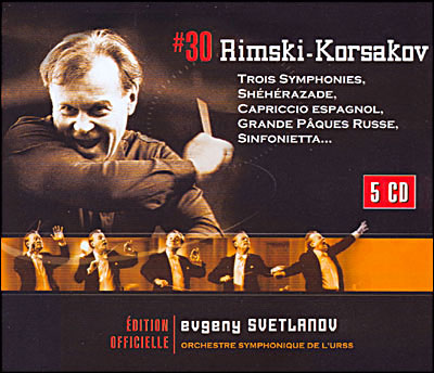 Rimsky Korsakov - oeuvres orchestrales 0825646989942