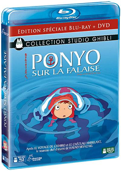 [BD + DVD] Ponyo sur la Falaise (23 décembre 2009) 8717418239404