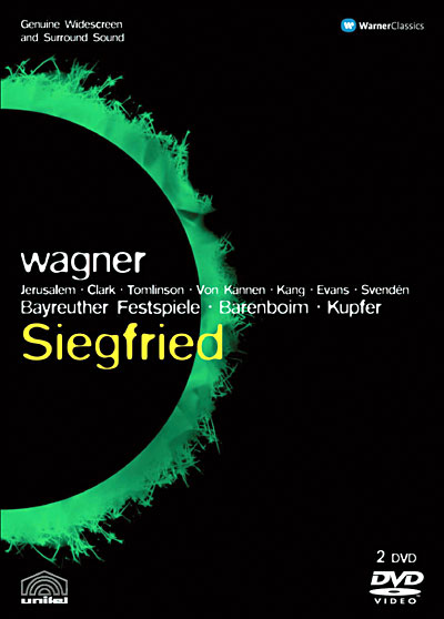 Wagner - Ring Barenboïm/Kupfer DVD 0825646232024