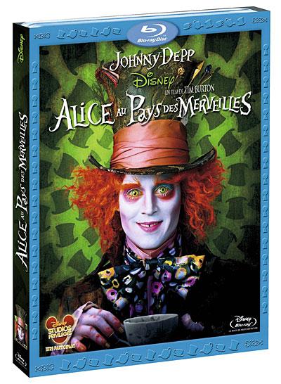 [Blu-Ray et DVD] Alice au Pays des Merveilles de Tim Burton (24 juillet 2010) - Page 3 8717418273224
