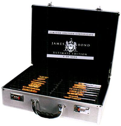 Valise James Bond : Edition Limitée 40 DVD 3700259828284