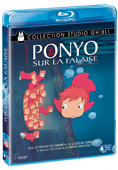 [BD + DVD] Ponyo sur la Falaise (23 décembre 2009) 8717418223205