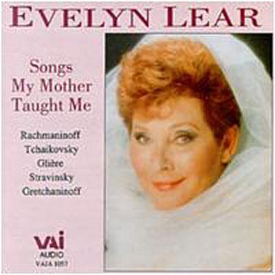 Evelyn Lear 1926-2012 0089948105725