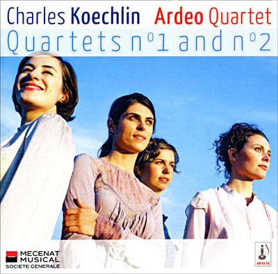 Koechlin - Musique de Chambre et Solos (Piano, flûte etc.) 3760067550135