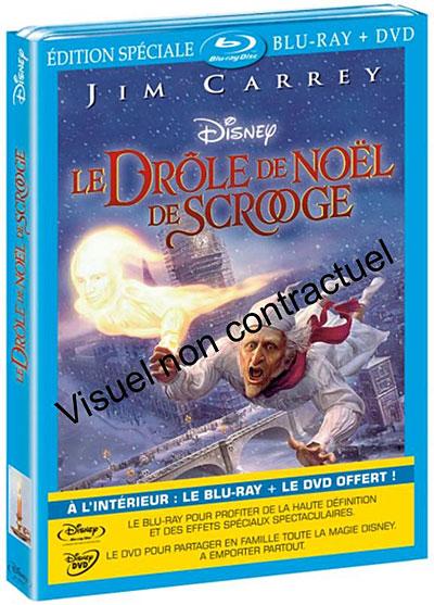 [BD + DVD] Le Drôle de Noël de Scrooge (1er décembre 2010) - Page 5 8717418253516