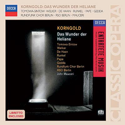 Korngold - Das Wunder Der Heliane 0028947582717