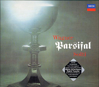 wagner - Wagner : Parsifal discographie sélective 0028947080527