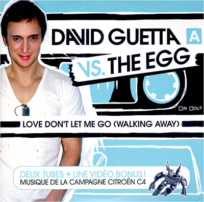 David Guetta Vs The Egg - Love don't let me go 0094637298008