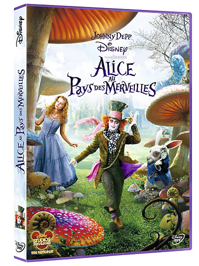 [Blu-Ray et DVD] Alice au Pays des Merveilles de Tim Burton (24 juillet 2010) - Page 3 8717418273019