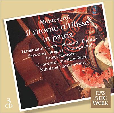 Monteverdi - Il Ritorno d'Ulisse in patria 0825646961429