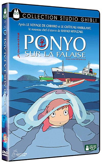 [BD + DVD] Ponyo sur la Falaise (23 décembre 2009) 8717418223199