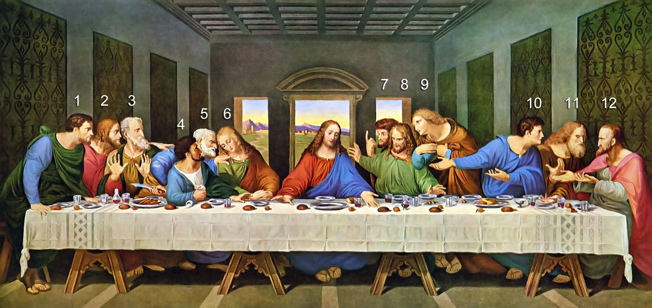 பொதுஅறிவு - கேள்வியும் பதிலும் (தொடர்) The-Last-Supper-Restored-Da-Vinci