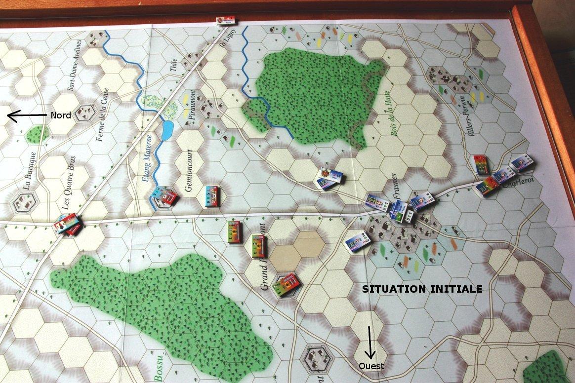 [CR] La bataille des Quatre Bras jeu Le retour de l'Empereur de Didier Rouy IMG_9113bis