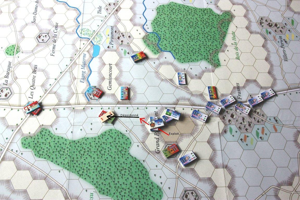 [CR] La bataille des Quatre Bras jeu Le retour de l'Empereur de Didier Rouy IMG_9115bis