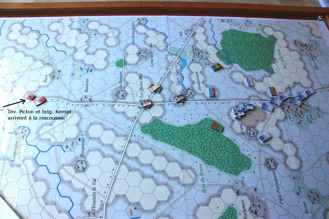 [CR] La bataille des Quatre Bras jeu Le retour de l'Empereur de Didier Rouy IMG_9120bis