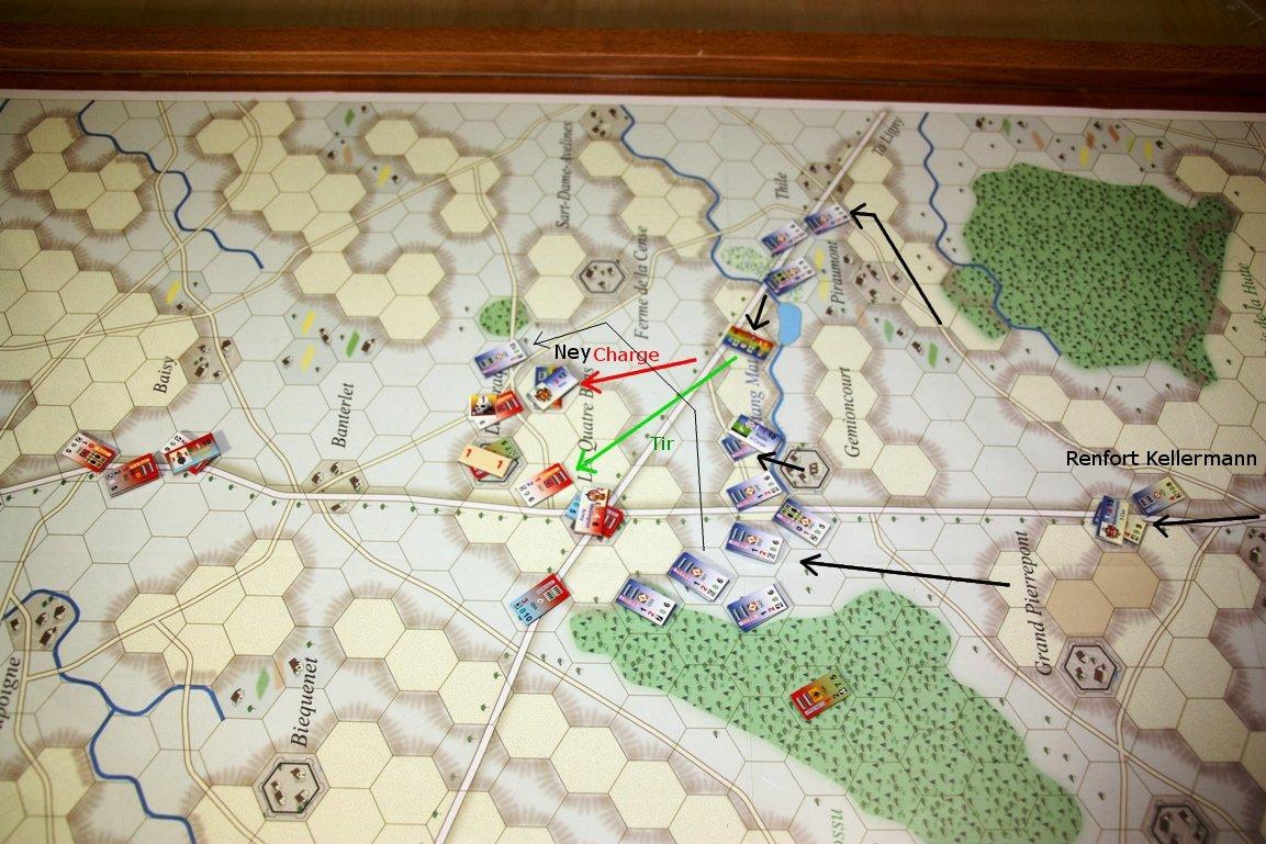 [CR] La bataille des Quatre Bras jeu Le retour de l'Empereur de Didier Rouy IMG_9130bis