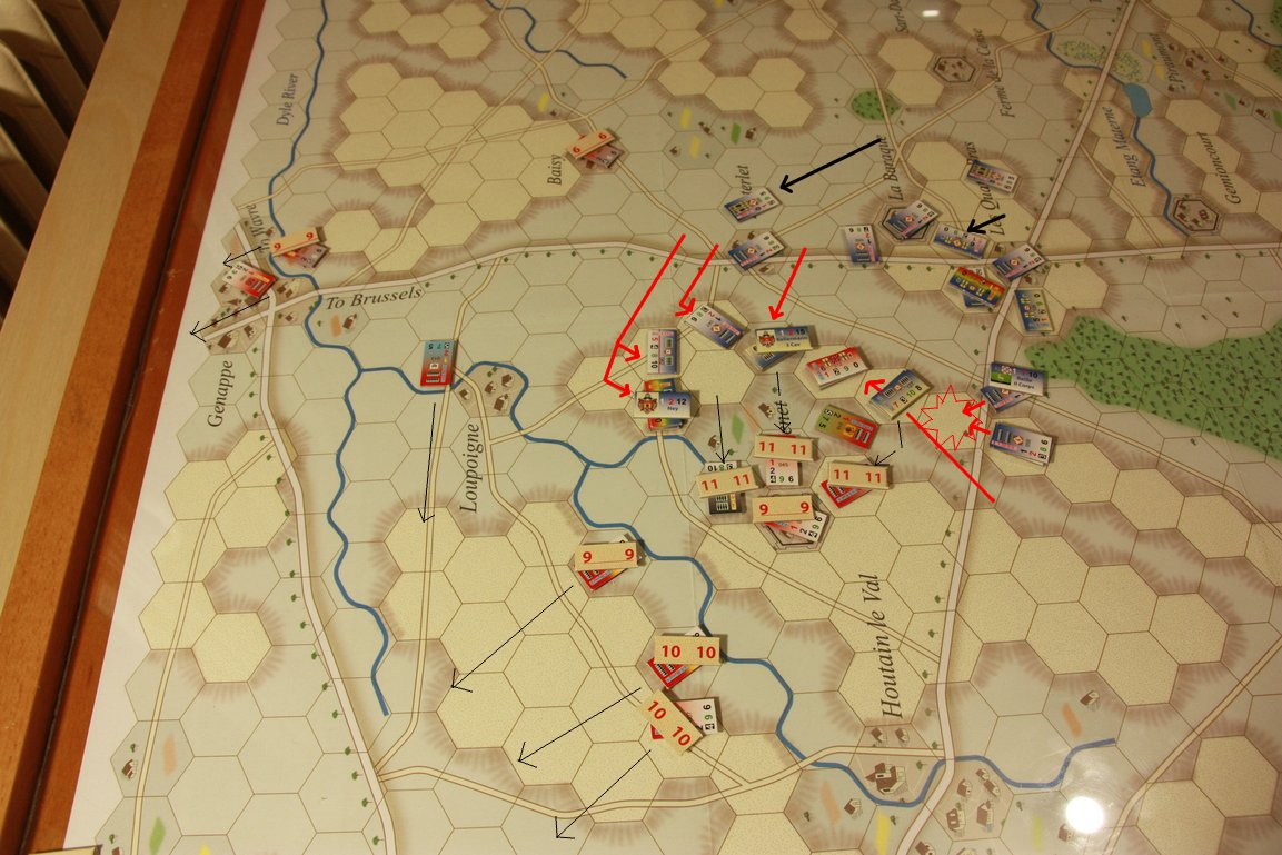 [CR] La bataille des Quatre Bras jeu Le retour de l'Empereur de Didier Rouy - Page 5 IMG_9188bis