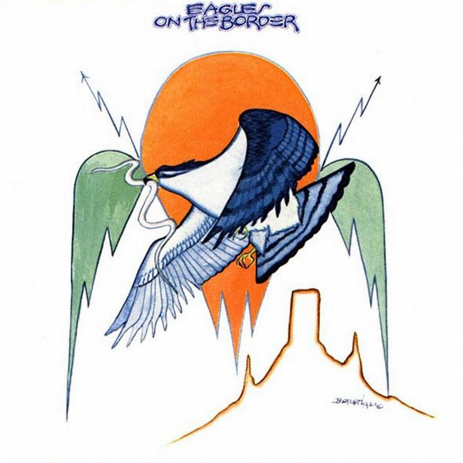 EAGLES - BIODISCOGRAFIA - VIDA TRAS LOS EAGLES VOL. I (1980-1985) - Página 3 The_eagles-on_the_border-frontal