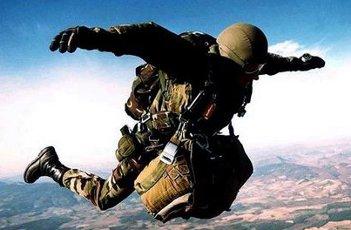 Les quatre armées: terre, air, mer et gendarmerie, comptent, parmi leurs formations qui vont de la compagnie à la division, des unités parachutistes et de commandos. ParaVol