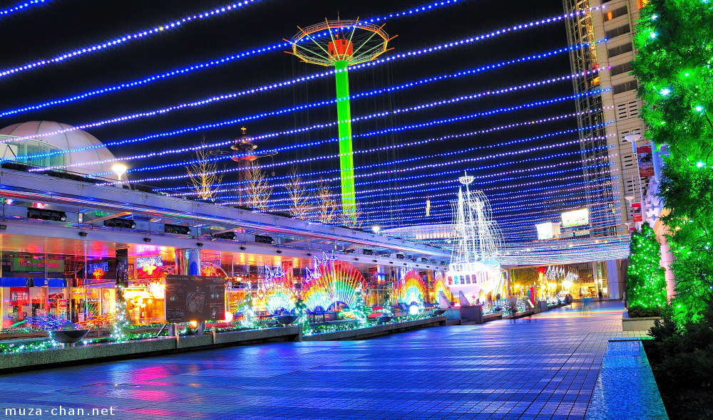 صور اجمل مهرجنات اليابان 2 Tokyo-dome-city-winter-festival-eco-light-factory-03-big