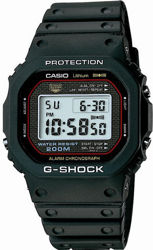The first G-Shock -- Story of the development of the Casio Icon DW-5000C-1A