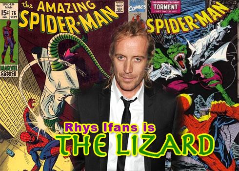 Spider-Man Rhysifanslizard