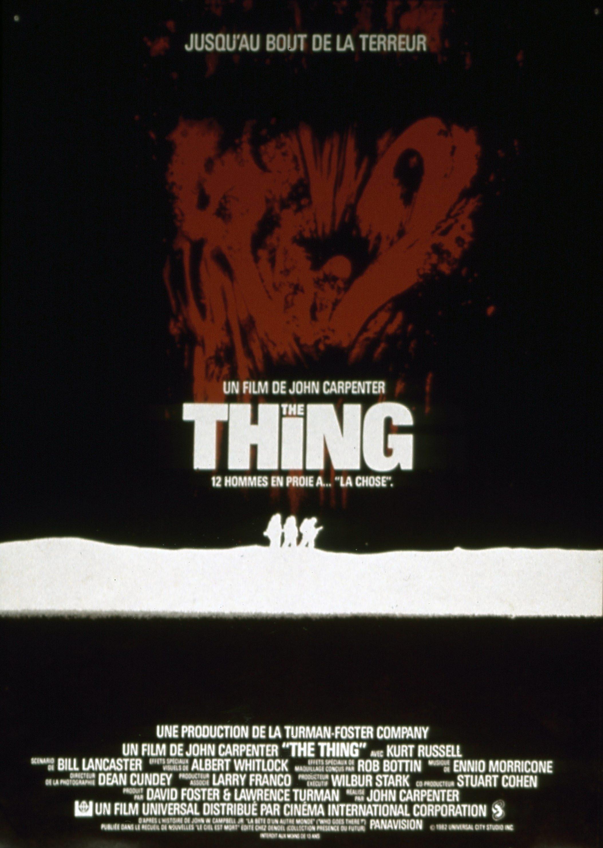 Les plus belles affiches de cinéma The-thing-affiche-fr