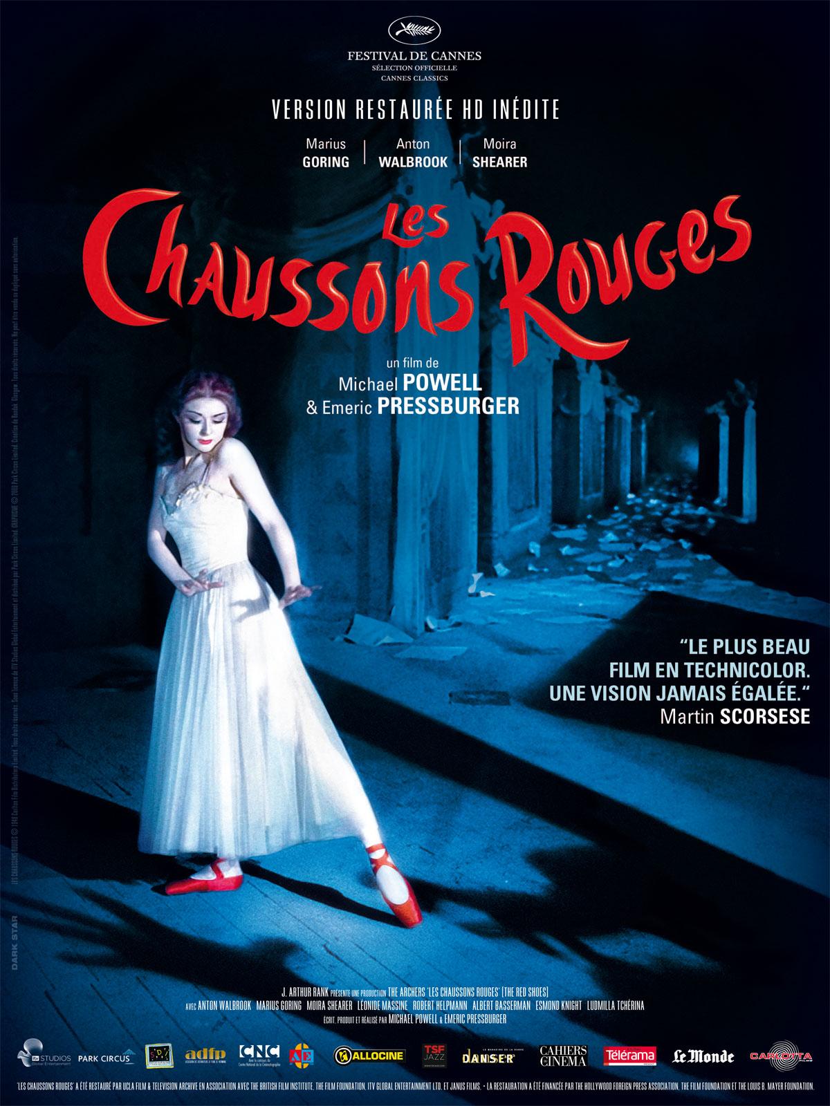 Les plus belles affiches de cinéma - Page 2 Les-chaussons-rouges-affiche