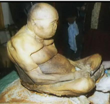 Le mystère de la momie de Sibérie Momie-lama