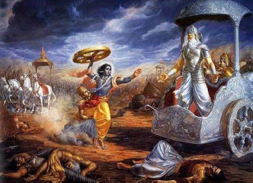 *Le Mahâbhârata (en sanskrit Mahā Mahabharata01