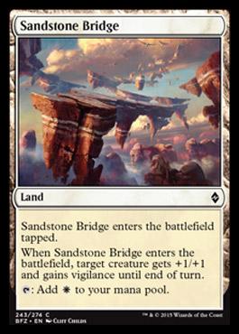Battle for Zendikar - Page 3 Sandstonebridge