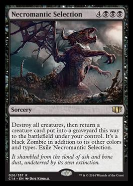 Commander 2014 Necromanticselection