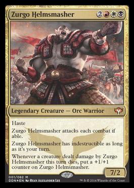 Spoilers Khans of Tarkir Zurgohelmsmasher1