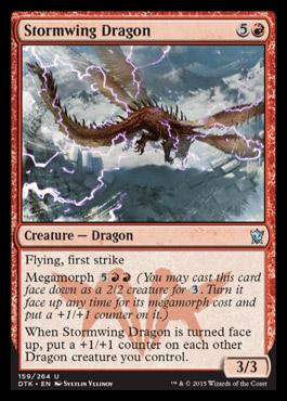 Dragons of Tarkir - Page 2 Stormwingdragon