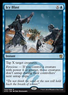 Spoilers Khans of Tarkir Icyblast