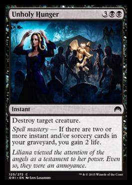 (M16) Magic Origins [ORI] - Page 2 Unholyhunger