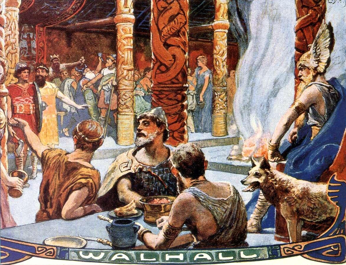 MYTHOLOGIE NORDIQUE Valhall2