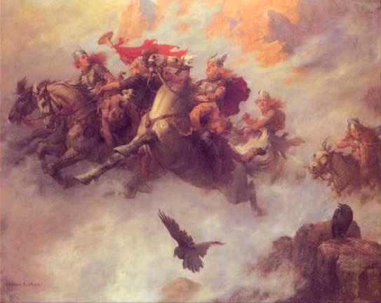 MYTHOLOGIE NORDIQUE Valkyries2