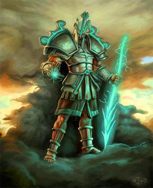 Teste para filho de Zeus - Página 3 Zeus_by_taekwondonj