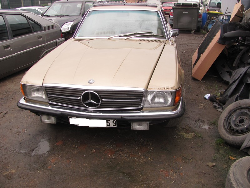 [62] Garage Barbieux à Laventie Mercedes350SLC01