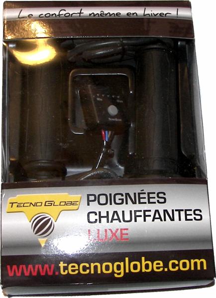 """Montage et Branchements de poignées chauffantes ( Tecnoglobe """" Luxe """") 1M"""