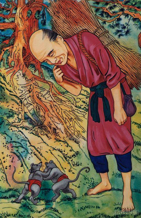 Японские сказки 53848