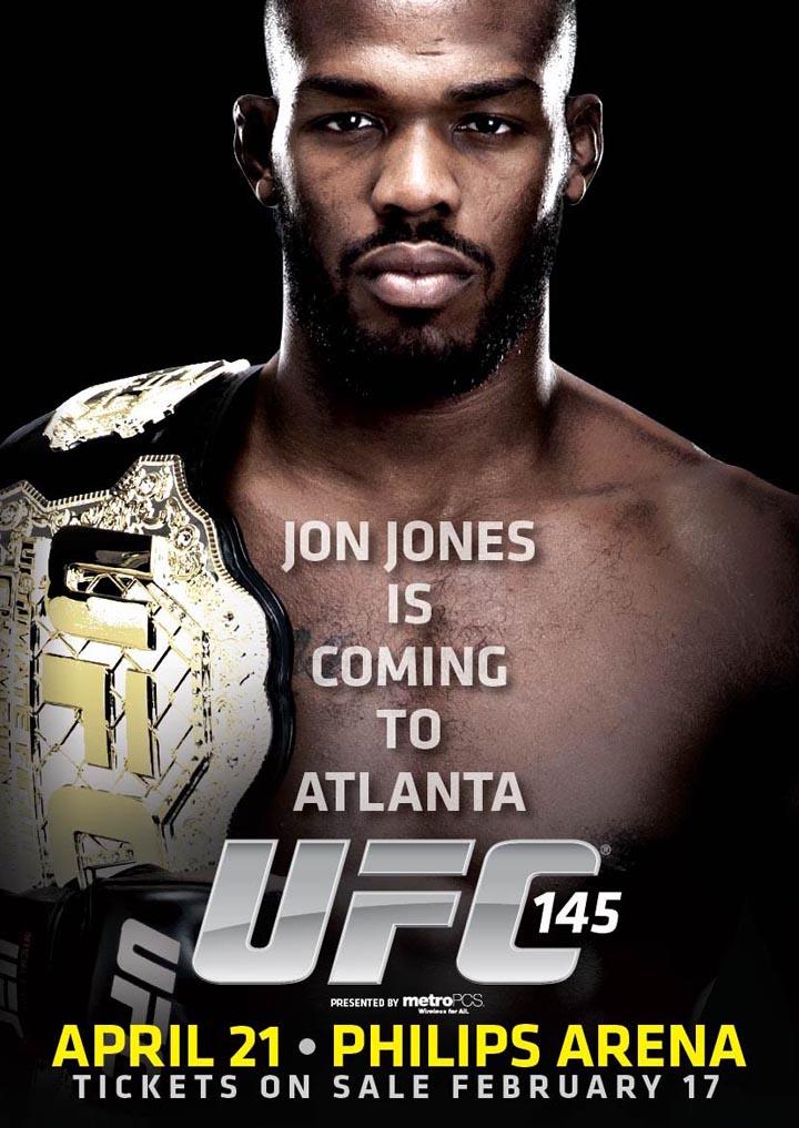 UFC confirma a Jon Jones en el UFC 145 en Atlanta  505461208