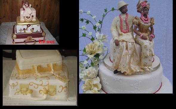 Gateaux de Mariage traditionnel en Afrique Suitcase_cake-engagement