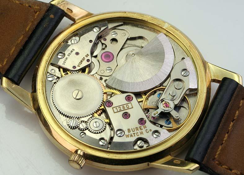 Zenith Captain chronometre or 18K750 Buren1280