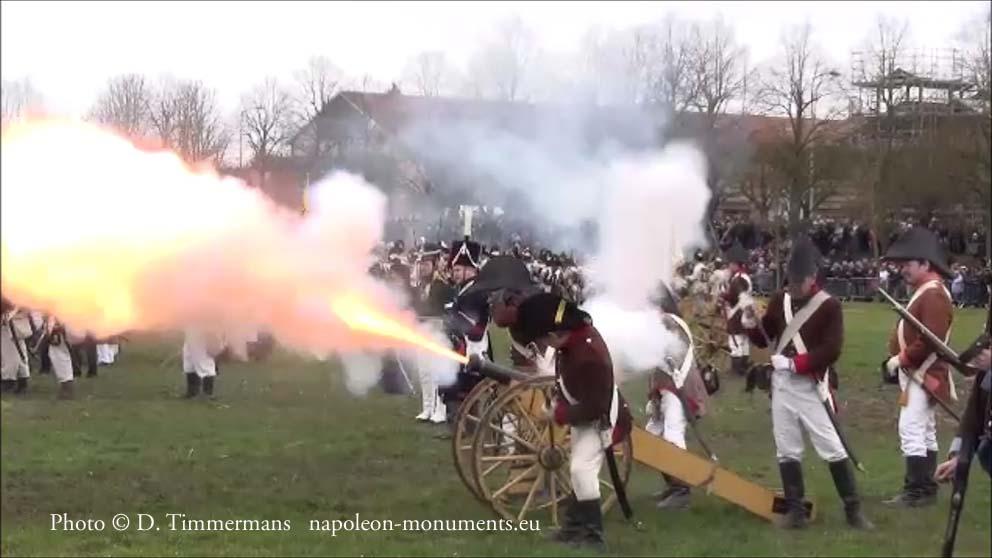 Reconstitution de la bataille de Montereau 140215Montereau319e