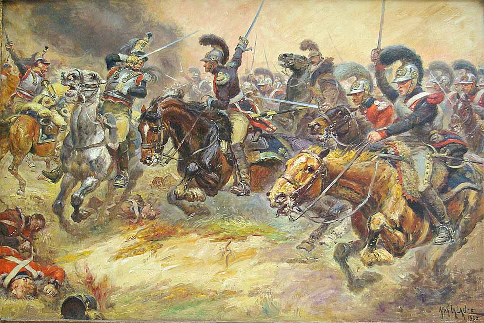 Carabiniers Belges 1815 MRA2Car